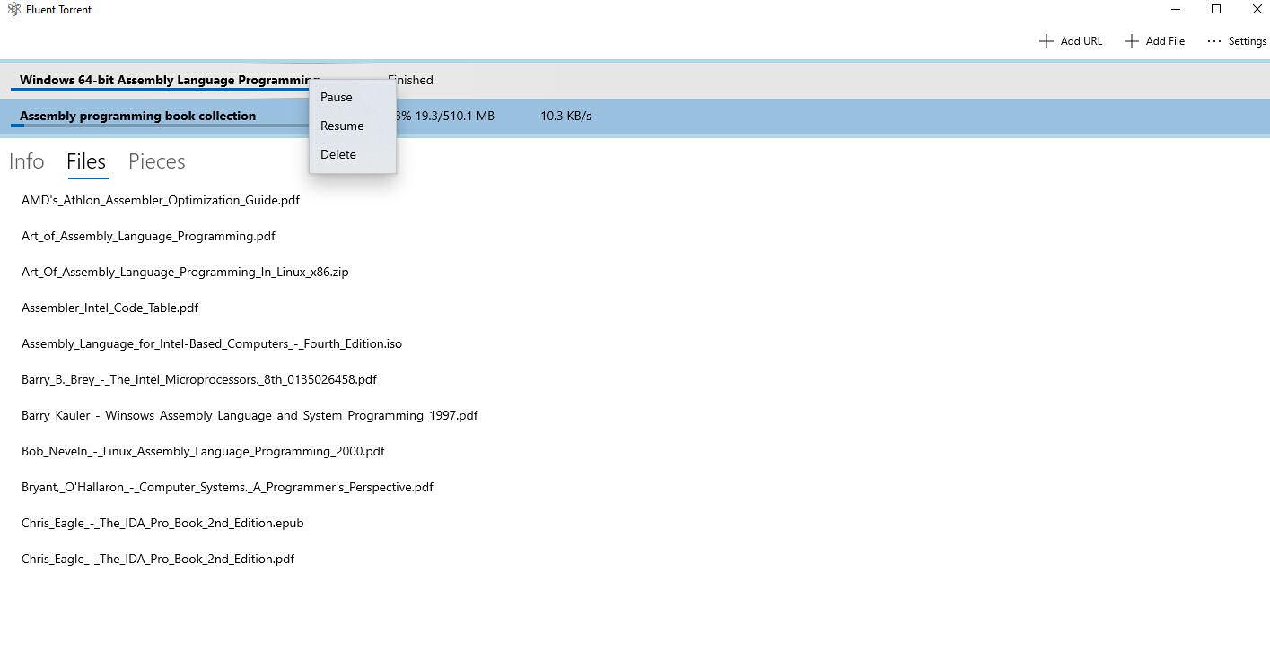 FluentTorrent